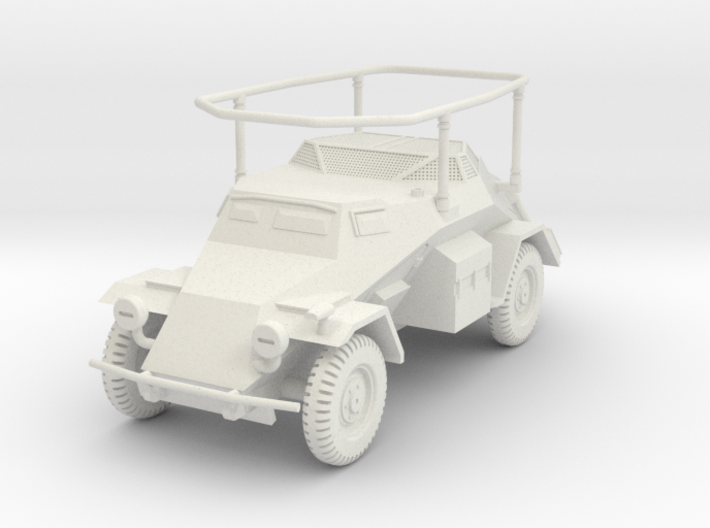 PV136 Sdkfz 261 Long Range Radio Car (1/48) 3d printed