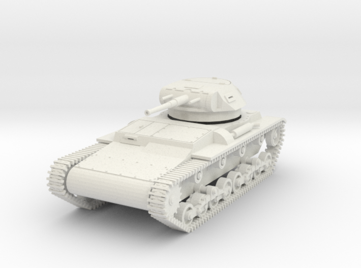 PV137 Verdeja 1 Light Tank (1/48) 3d printed