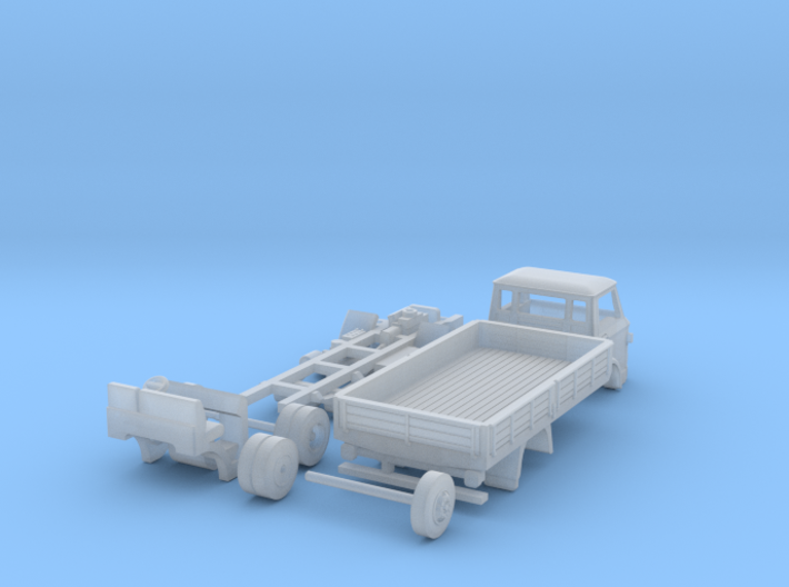 Ford D800 1:120 TT scale 3d printed