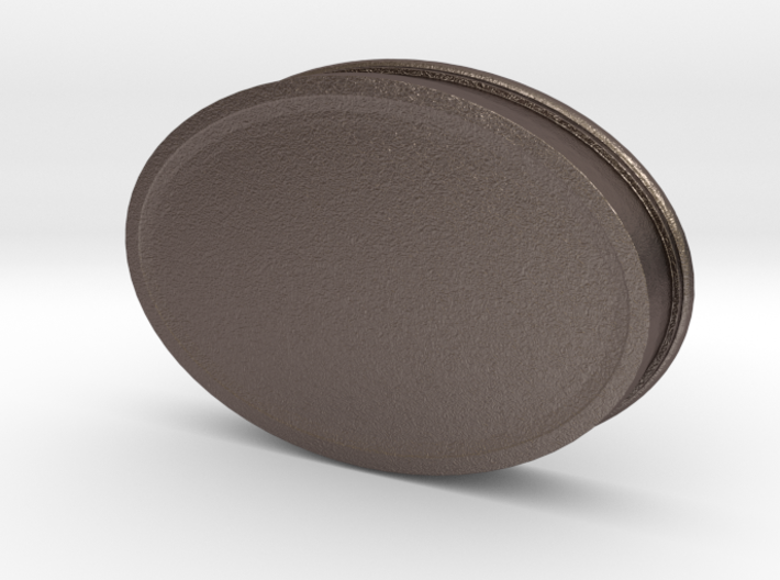 Soapdish-oval 3d printed