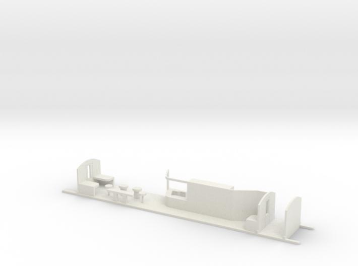 Aménagement Eurostar Bar HO 3d printed