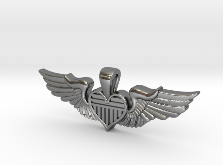 The Original Sweetheart Wing 3d printed