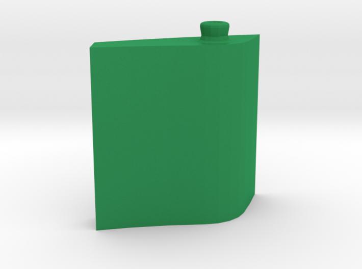 Leaf Bottle 50 ml 3d printed