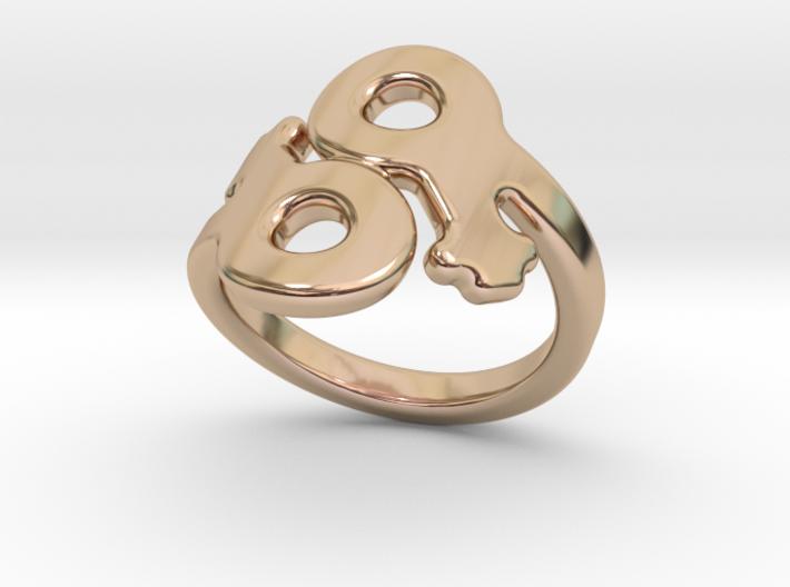 Saffo Ring 22 – Italian Size 22 3d printed
