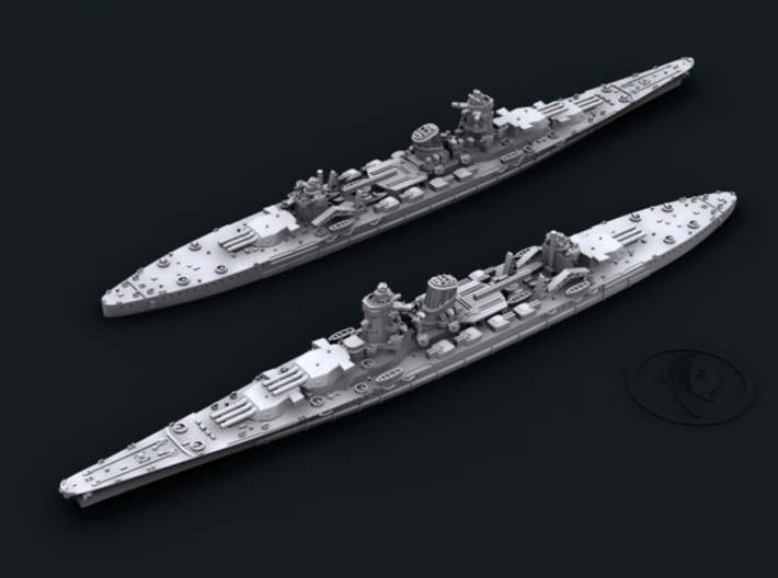 1/1800 IJN BC Design B65 Project [1942] 3d printed Computer software render