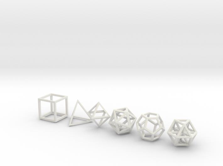 Metatronic Solids 3d printed