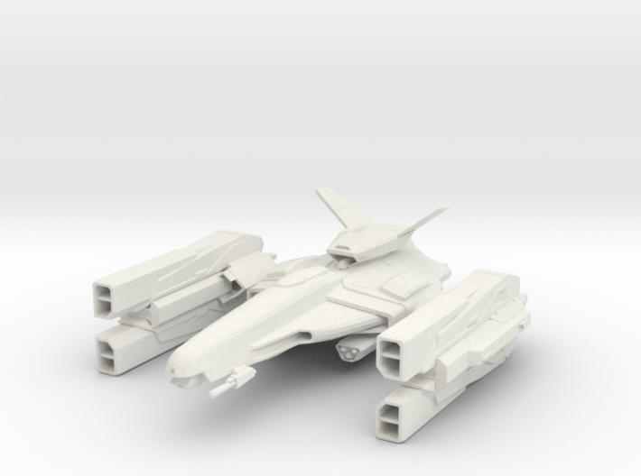 Gun Ship 3d printed