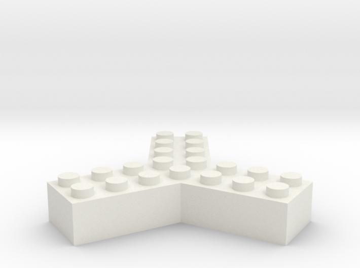 Trilego-2x4 3d printed