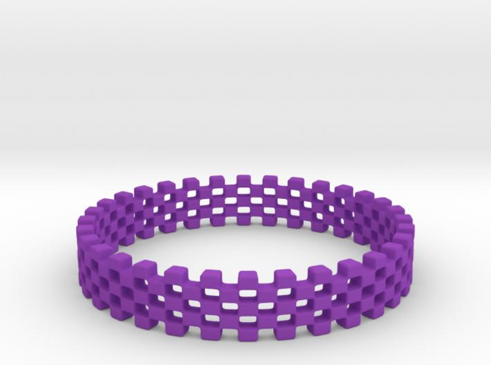 Continum Ring (US Size-10) 3d printed