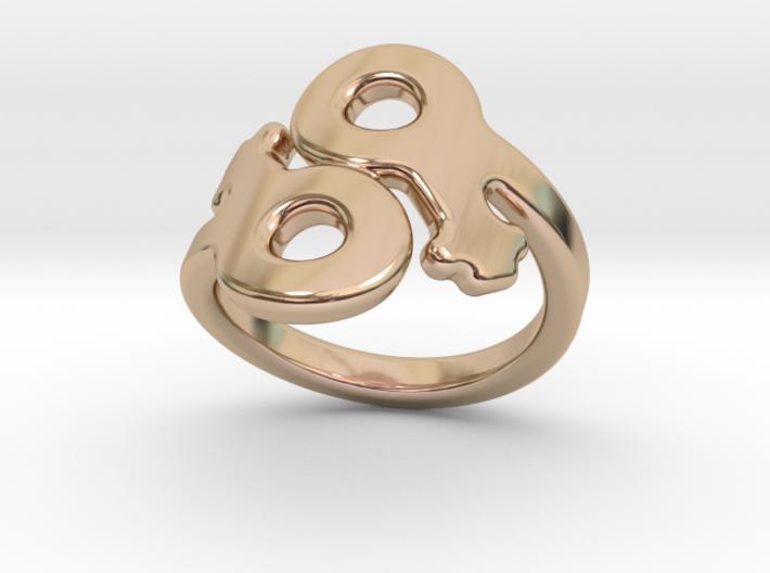 Saffo Ring 30 – Italian Size 30 3d printed