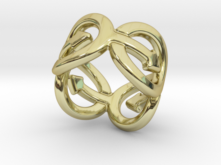 Coming Out Ring 14 – Italian Size 14 3d printed