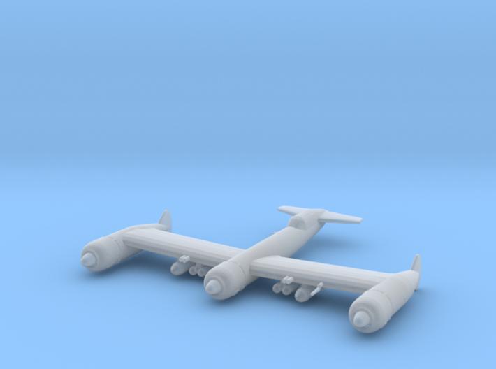 Blohm & Voss P.170 (with ordnance) 3d printed