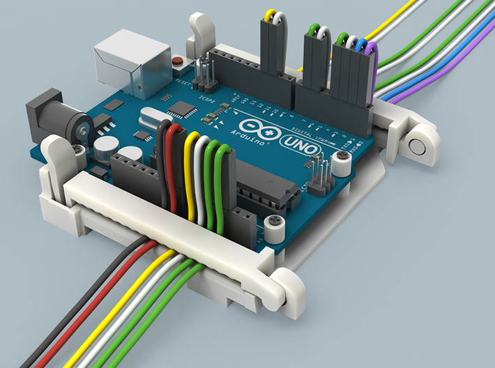 Arduino UNO Compatible Holder 3d printed