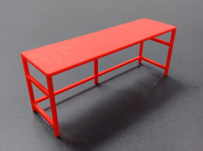 Garage Workbench 1/24 3d printed