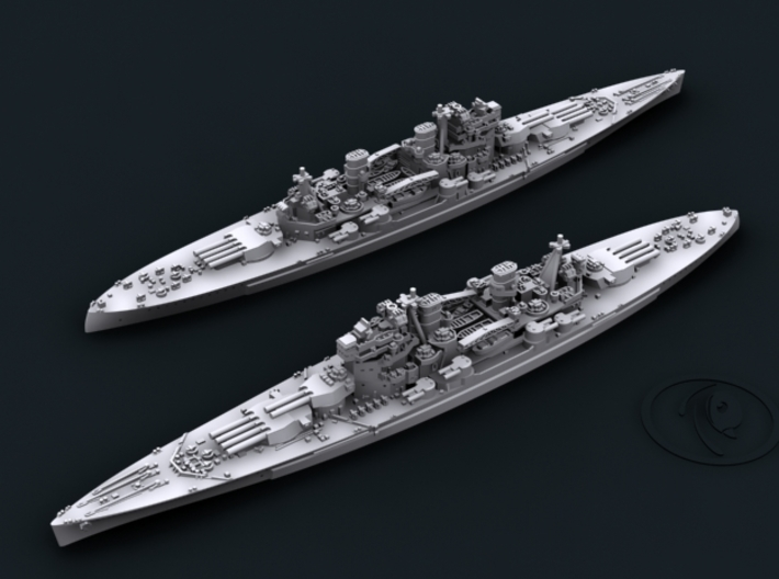 UK BB Howe [1944] 3d printed Computer software render