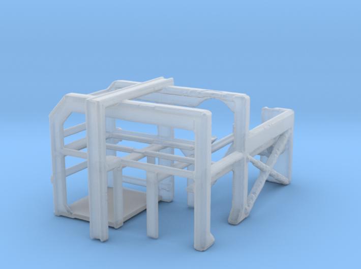 1/144 DC Loader Rack 3d printed