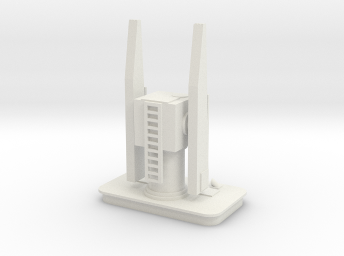 1/144 Scale USN Mk 26 Missile Launcher 3d printed