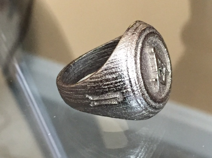 Masonic Ring 3d printed