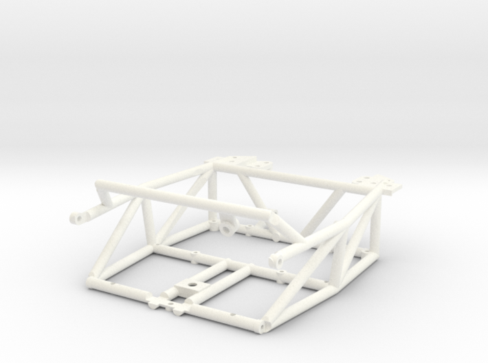 FA20003 Sand Rail Chassis Rear 3d printed Chassis REAR ONLY, you will need Chassis FRONT to compete (sold separately)