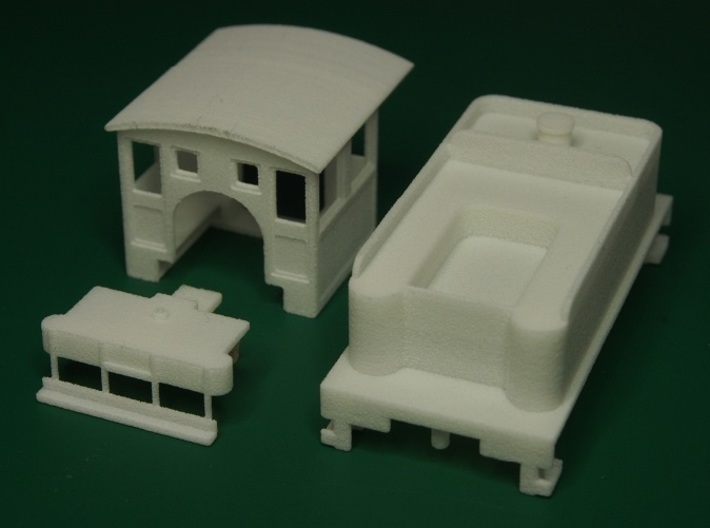 Parts for 2-6-0 conversion (cab,pilot,tender) A 3d printed