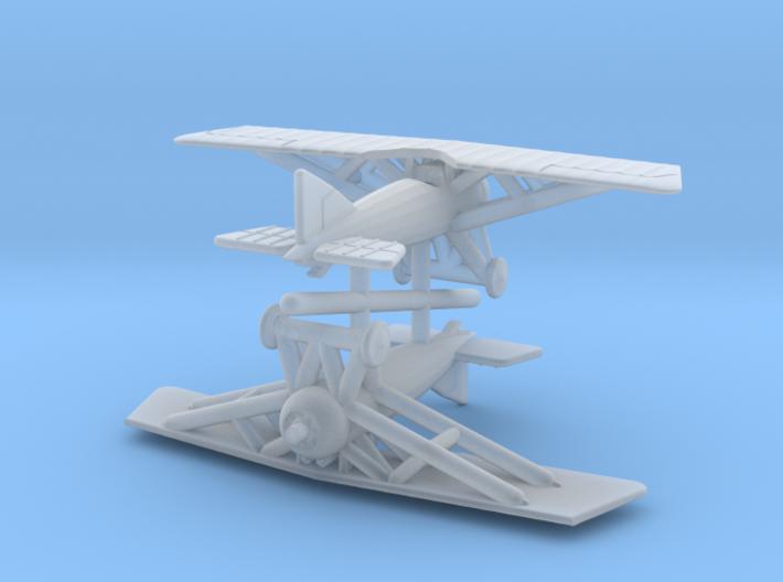 1/288 Morane AI (x2) 3d printed