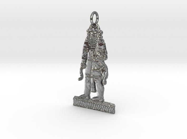 Gilgamesh Pendant 3d printed