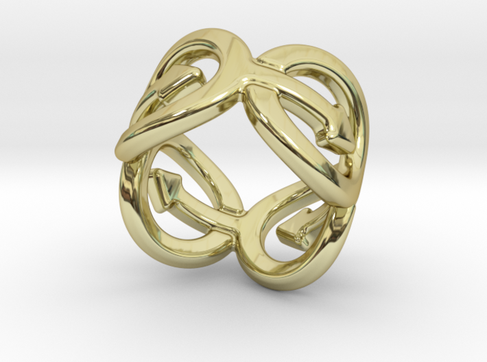 Coming Out Ring 20 – Italian Size 20 3d printed