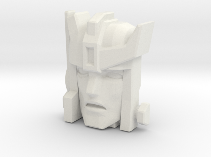 Autobot-X / Autobot Spike Face (Titans Return) 3d printed