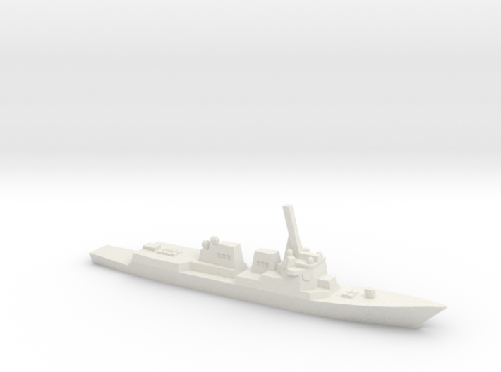 Arleigh Burke Flight IIA (DDG-99 - 101), 1/1800 3d printed