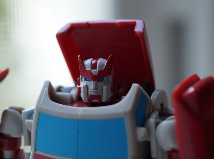 "Chief Medial Officer Head ""MTMTE"" for 08 Pop-Up 3d printed"