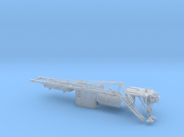 0016 HO 1:87 Dampfkran DEMAG Gittermastausleger  3d printed