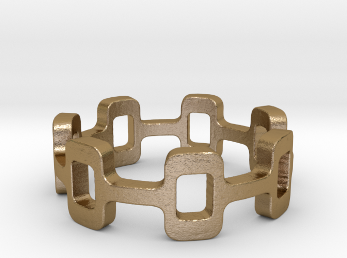 Ipa stack Ring Size 5 3d printed