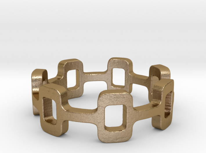 Ipa stack Ring Size 6 3d printed