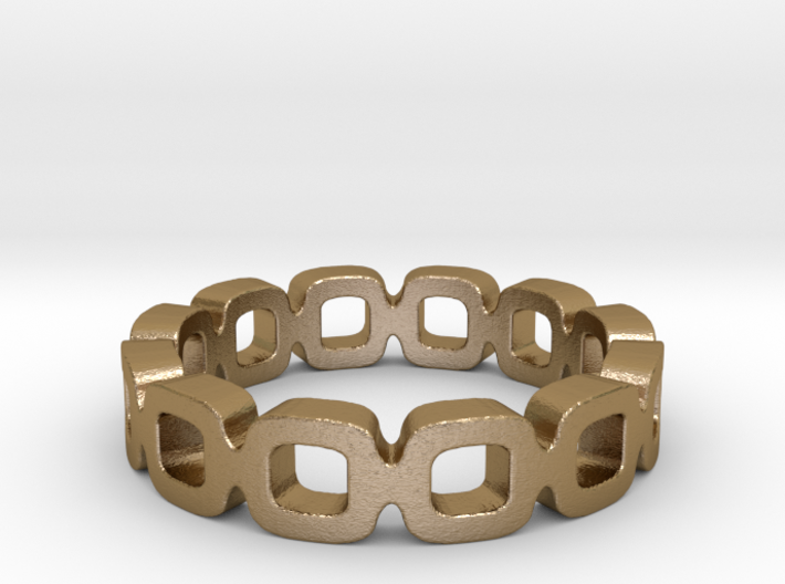 Ipa link Ring Size 6.5 3d printed