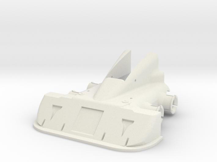 CW Dragstrip Front Spoiler pt1 - Spoiler 3d printed