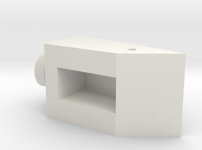 CW Dragstrip Front Spoiler pt3 - Hinge Mushroom 3d printed