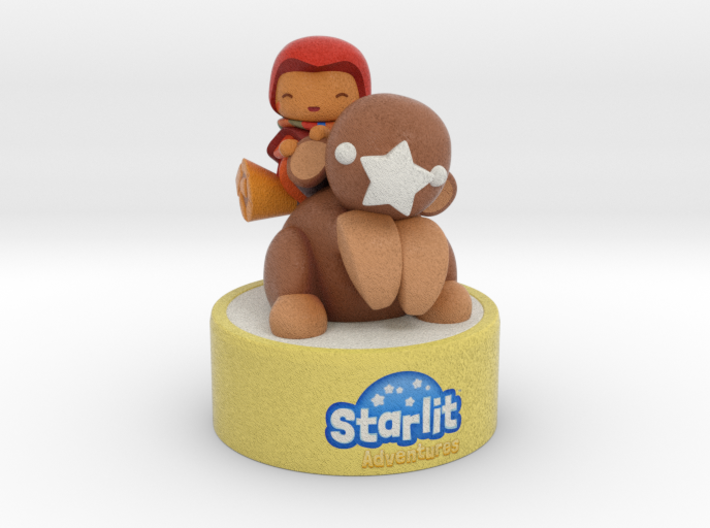 Starlit Adventures - Bo and Kikki 3d printed