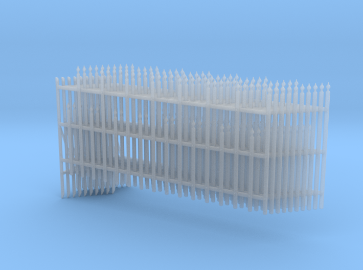 Decorative Wrought Iron Fence Panels 3d printed