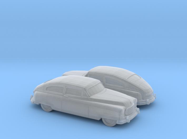 1/160 2X 1949-50 Nash Ambassador Coupe 3d printed