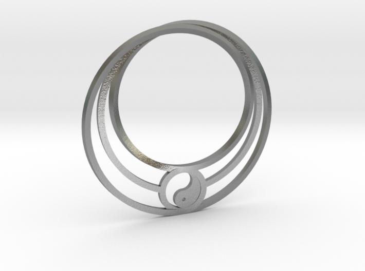 Yin Yang Mobius 3d printed