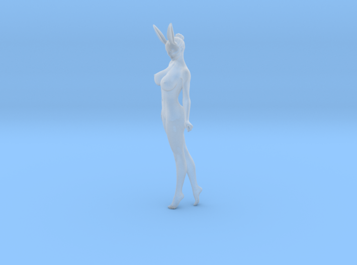Bunny lady 001 1/24 3d printed