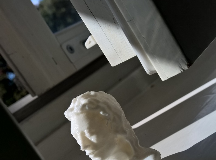 Woman 3d printed PLA