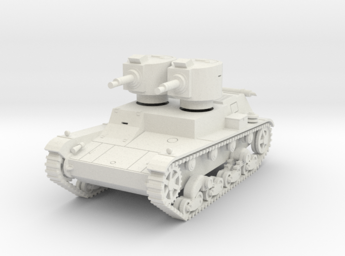 PV140A 7TP Dual Turret (28mm) 3d printed