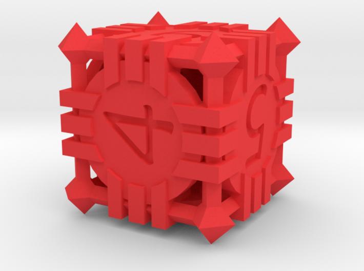 D6 - Andrew Bell 3d - Geometric Design 1 3d printed