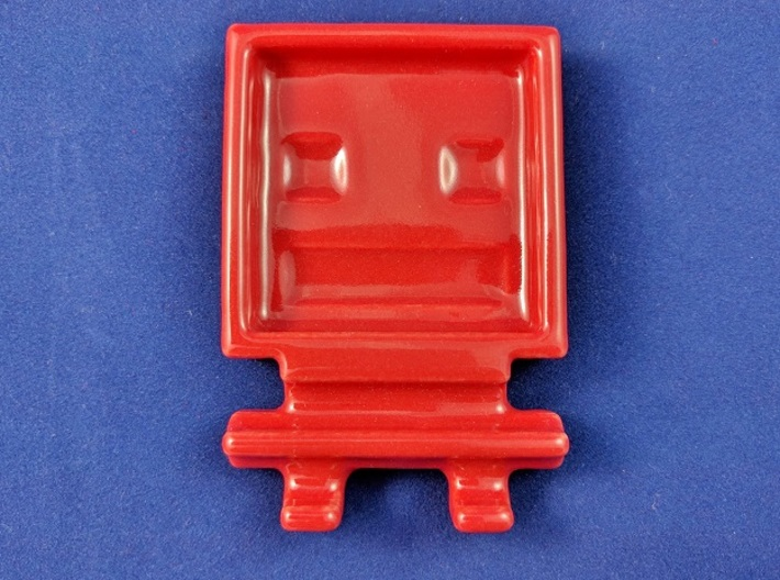 Turbo Buddy Chopstick Rest And Sauce Dish 3d printed