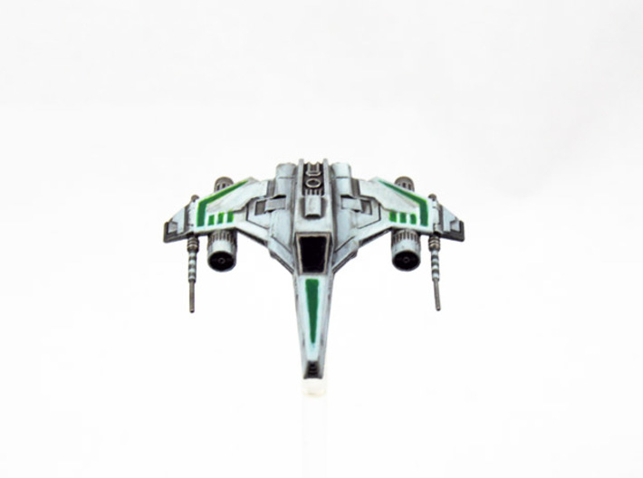 E-Wing Variant - Dual Cannon 3pack 3d printed