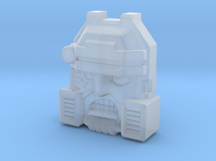 Demolishor Face (Titans Return) 3d printed