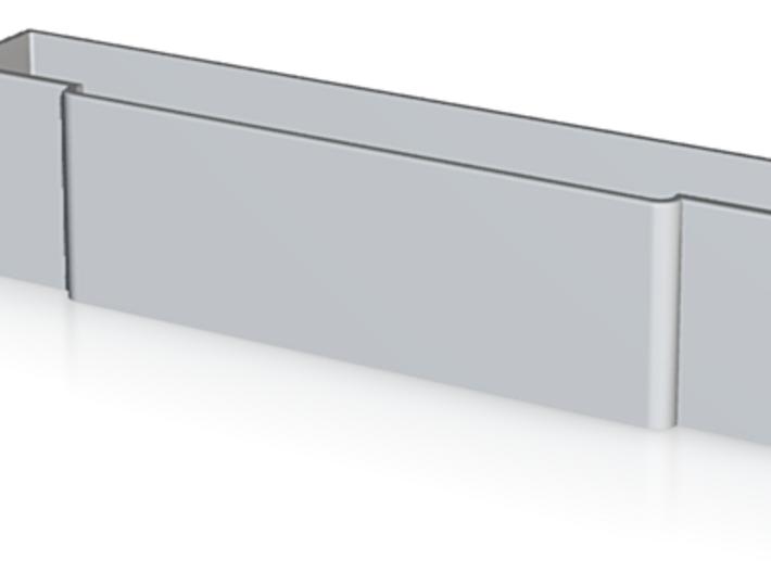 SNES Cartridge Dust Covers 3d printed