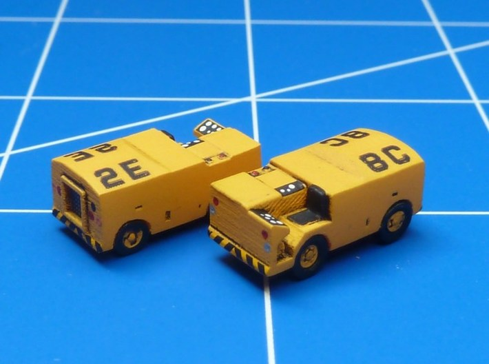 1:144 Scale NC-2 Mobile Electric Power Plant (x2) 3d printed