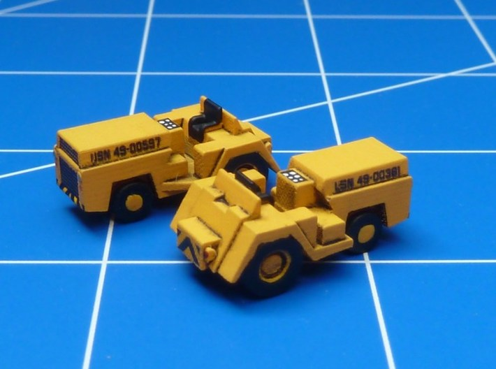 1:144 Scale MD-1 Tow Tractors (4x) 3d printed